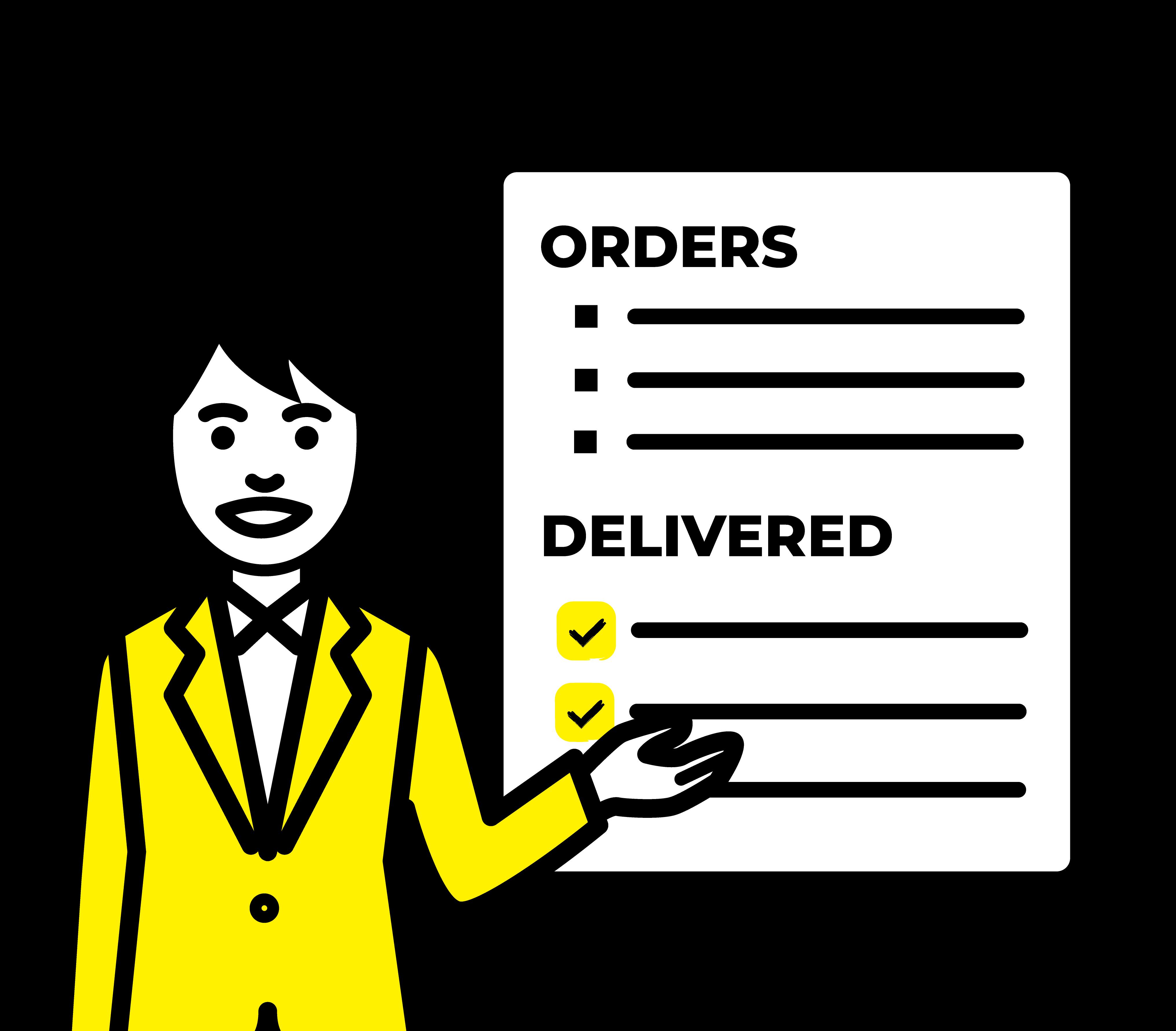 商品・注文の管理が楽にできる管理画面
